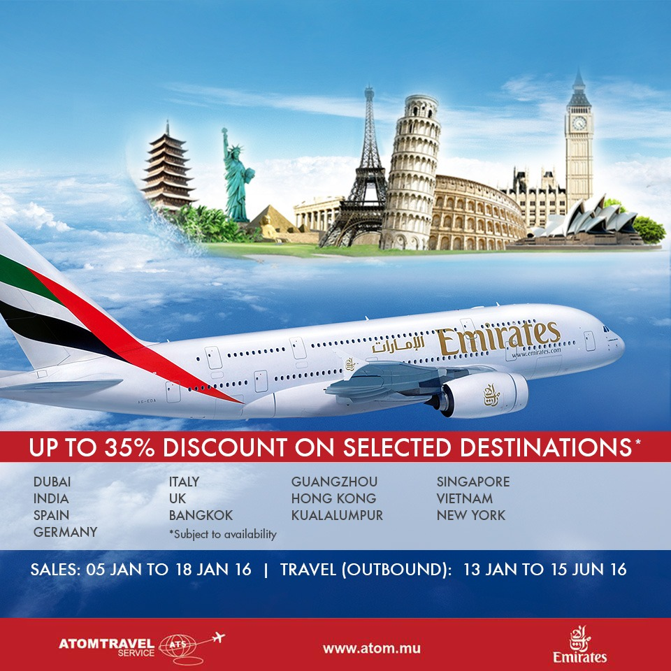 Emirates discount coupon