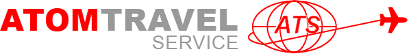 Atom Travel Retina Logo