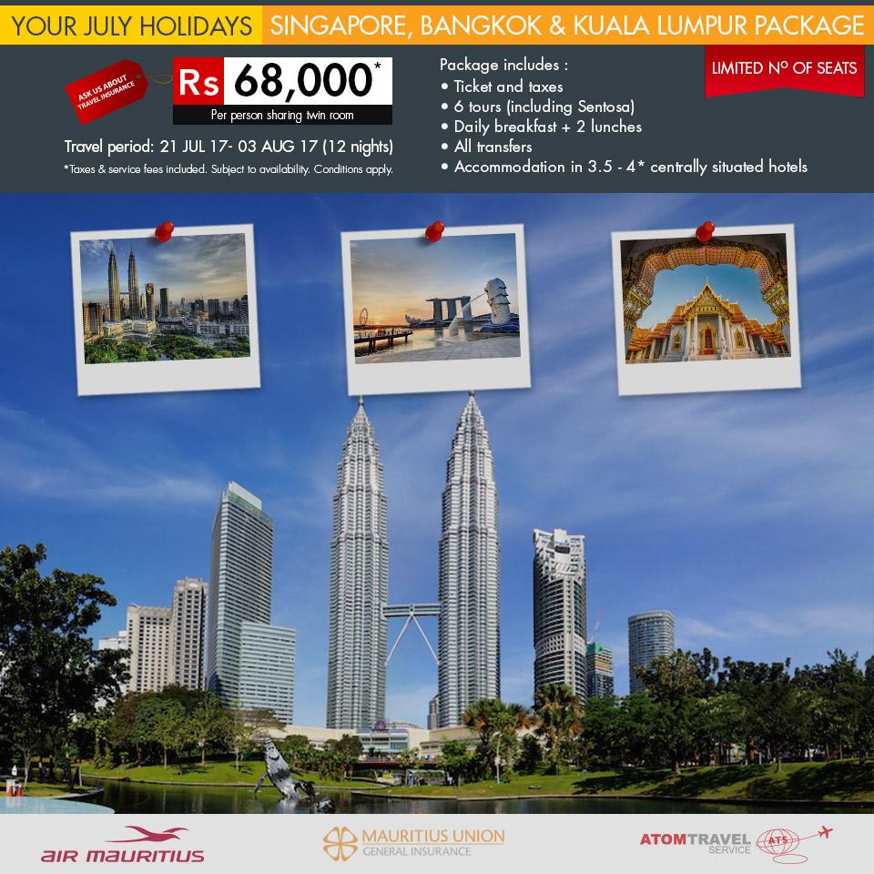 Escape Travel Singapore Packages