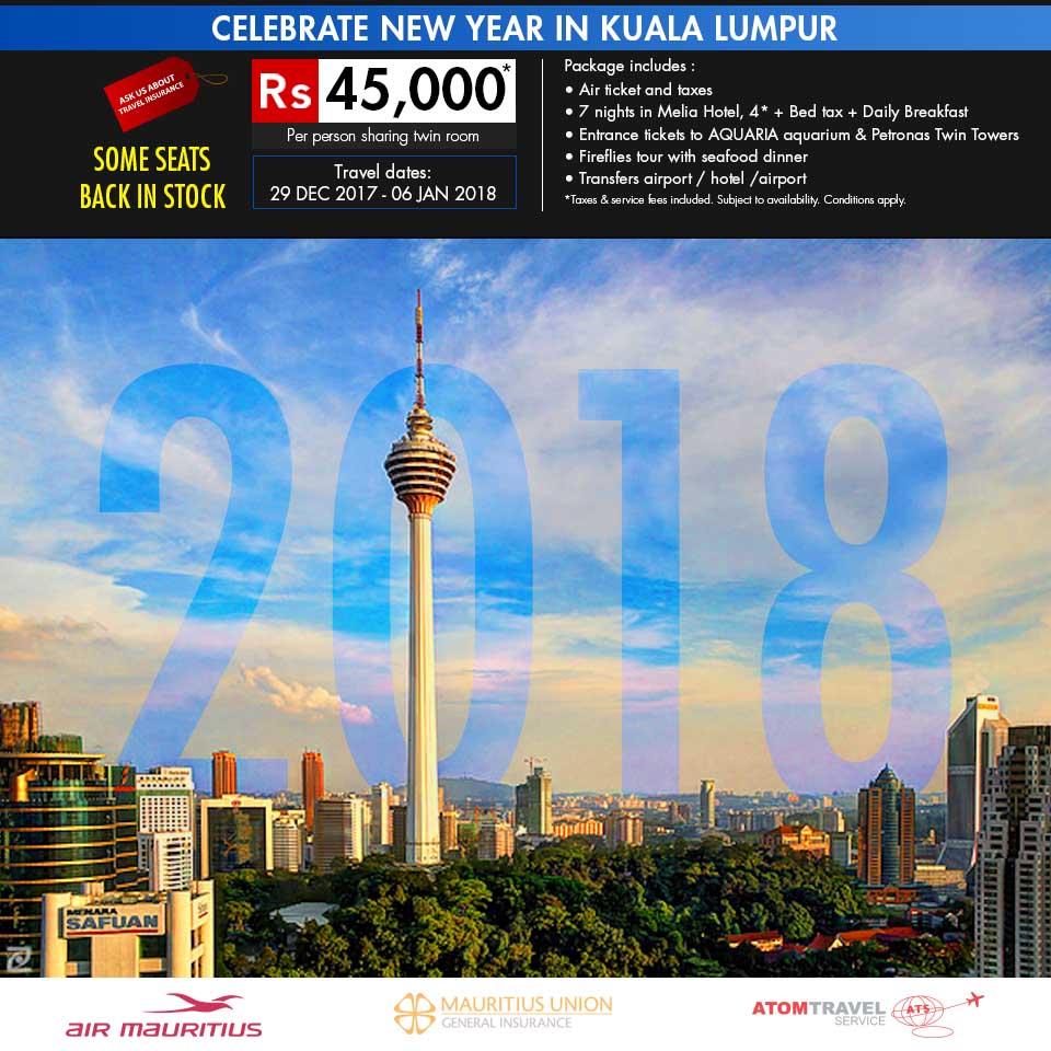 Kuala Lumpur: New Year In Kuala Lumpur (29 Dec 2017