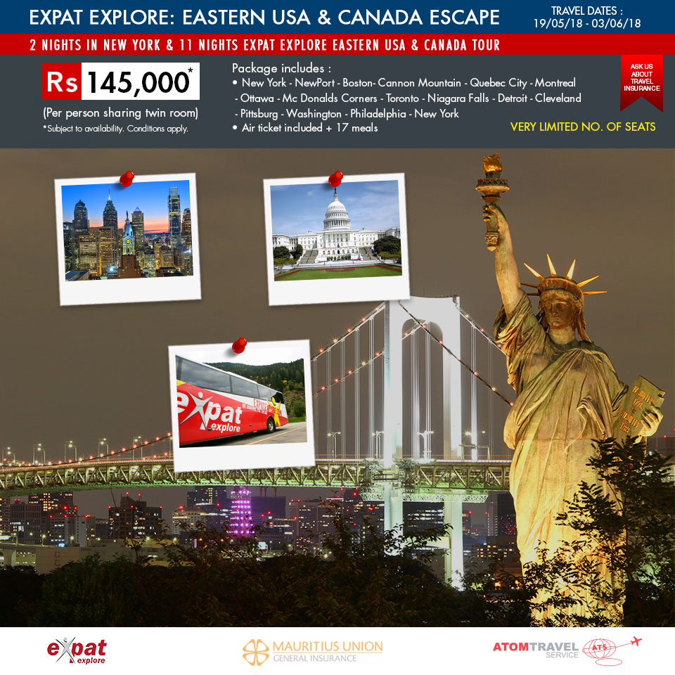 New York Tour Package From India