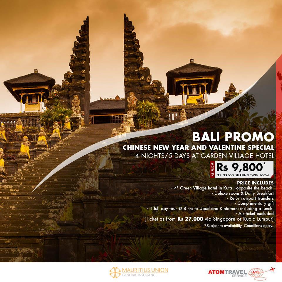 Bali coupons