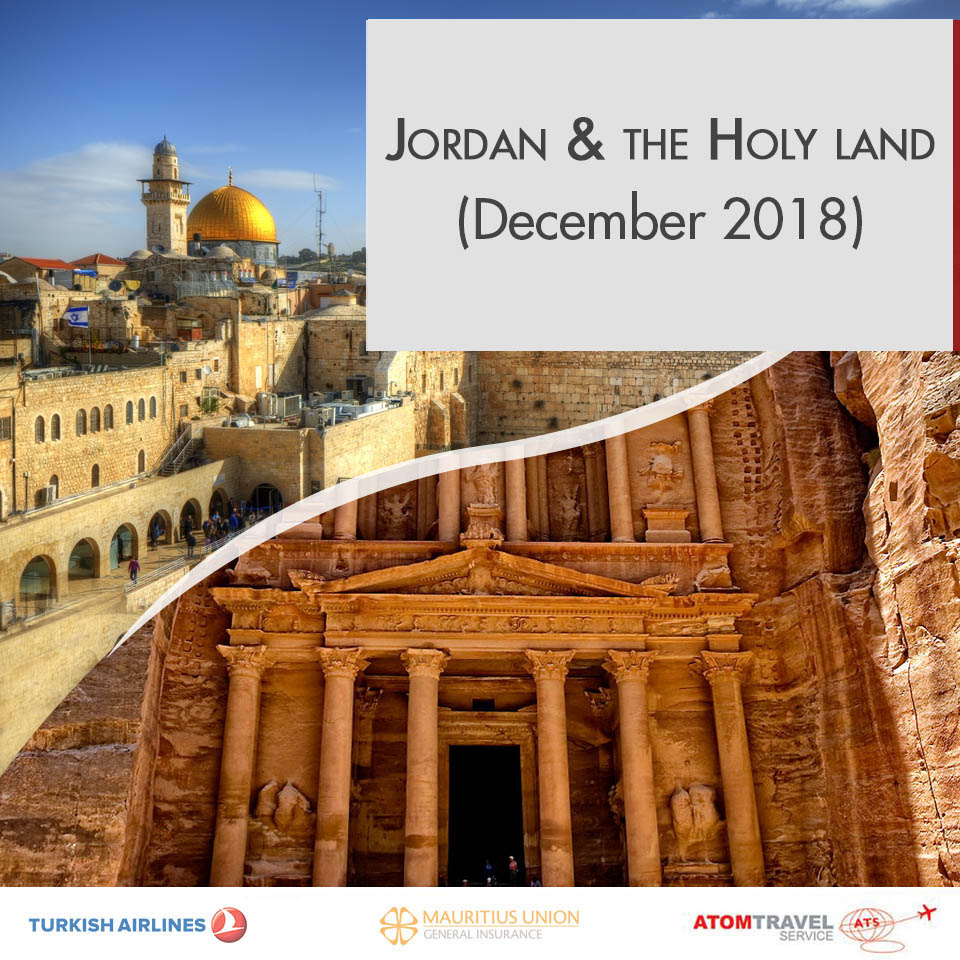 Jordan Amp The Holy Land December 2018 Atom Travel
