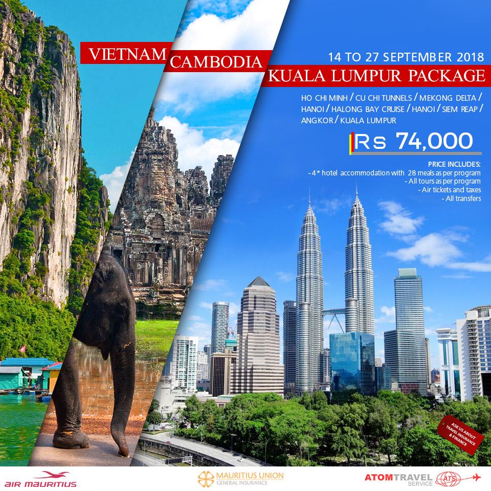 Vietnam Cambodia Kuala Lumpur 14 27 Sep 2018 Atom