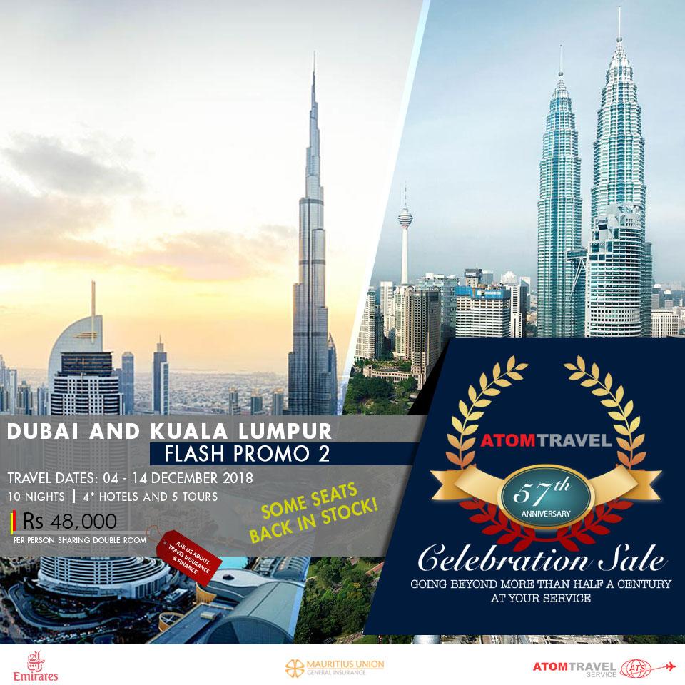 Dubai & Kuala Lumpur (December 2018)
