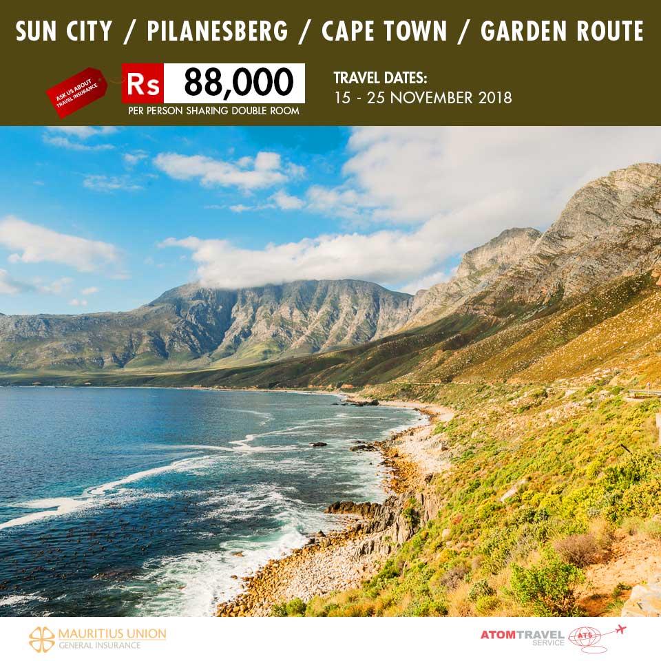 sun city pilanesberg cape town garden route - Garden Route