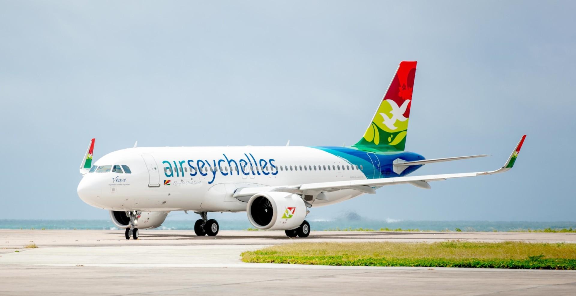 Resultado de imagen para A320neo Air Seychelles